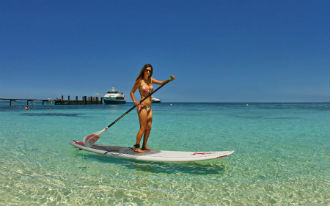 Activities on Amedee Island