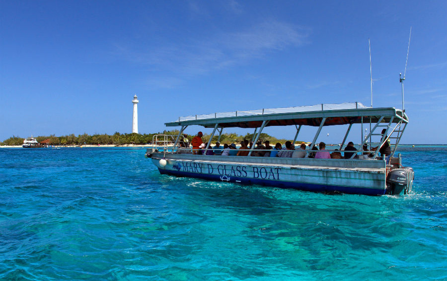 Glass Bottom Boat Amedee Island